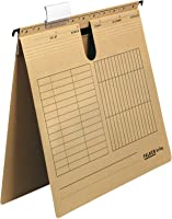 Original Falken Pack of 25 Suspension Files UniReg. Made in Germany Commercial Binding Made from Recycled Cardboard for...