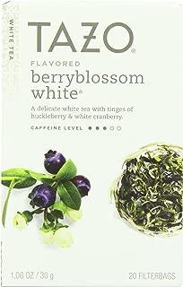 Tazo White Tea Berryblossom 20 Bags