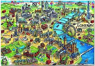 Educa Borras - City Maps Series, Puzzle 500 Pieces London Map