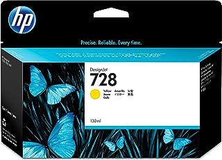 HP (Hewlett Packard) Original F9J65A HP 728 130-ml DesignJet Ink Cartridge, Yellow