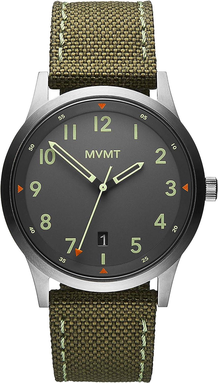 MVMT Reloj Analógico para Hombre de Cuarzo con Correa en Lona 28000014-D