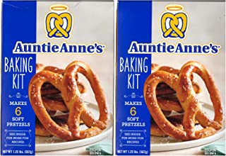 Auntie Annes, Make Your Own Pretzel Kit, 1.25 Pound Kit (Pack of 2)