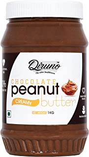 Diruno Chocolate Peanut Butter Creamy 1Kg (Gluten Free, Non-GMO)