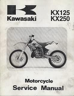 1994-1998 KAWASAKI MOTORCYCLE KX125, KX250 SERVICE MANUAL 99924-1168-04 (806)