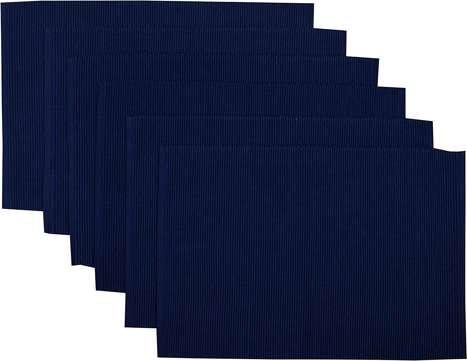 Yourtablecloth Ribbed Cotton 25% OFF Placemats supreme Placemat – with Thic