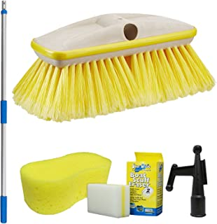 Star brite Deluxe Brush Combo - Standard 3' - 6' Handle with 8