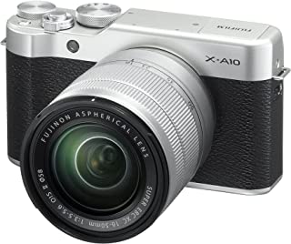 Fujifilm X-A10 XC16-50mm F3.5-5.6 OIS II Mirrorless Camera (Silver)