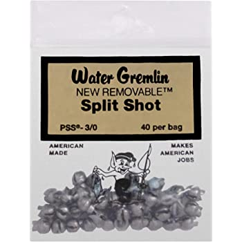 Water Gremlin Company PSS-BB Removable Split Shot 60Pc
