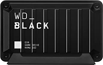 WD_Black 2TB D30 Game Drive SSD, Portable External Solid State Drive, Compatible with Playstation, Xbox, & PC, Up to 900M...