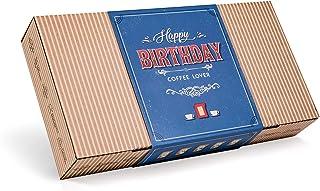 Caja de Cafe Gourmet Para Cumpleaños - Paquete de Degustación con 10 de Los Mejores Cafés Molidos Orgánicos Del Mundo | Pa...