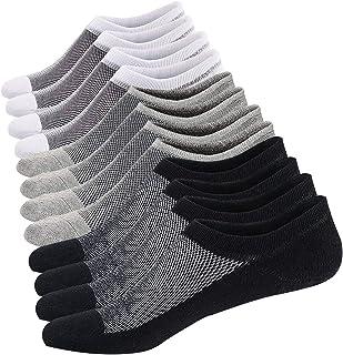 comprar comparacion Ueither Calcetines Cortos Hombre Invisibles Respirable Calcetines tobilleros Algodón Antideslizantes