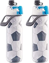 O2COOL Arctic Squeeze Insulated Mist 'N Sip Water Bottle | 2 Pack- 20 oz Sport Series | BPA Free, 2-in-1 Mist and Sip Func...