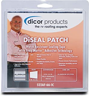 "Dicor Corporation Dicor 522TPO-4125-1C Diseal Tape 4"" X12.5' Roll White"
