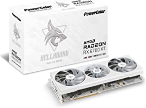 PowerColor Hellhound Spectral White AMD Radeon RX 6700 XT Gaming Graphics Card with 12GB GDDR6 Memory, Powered by AMD RDNA...