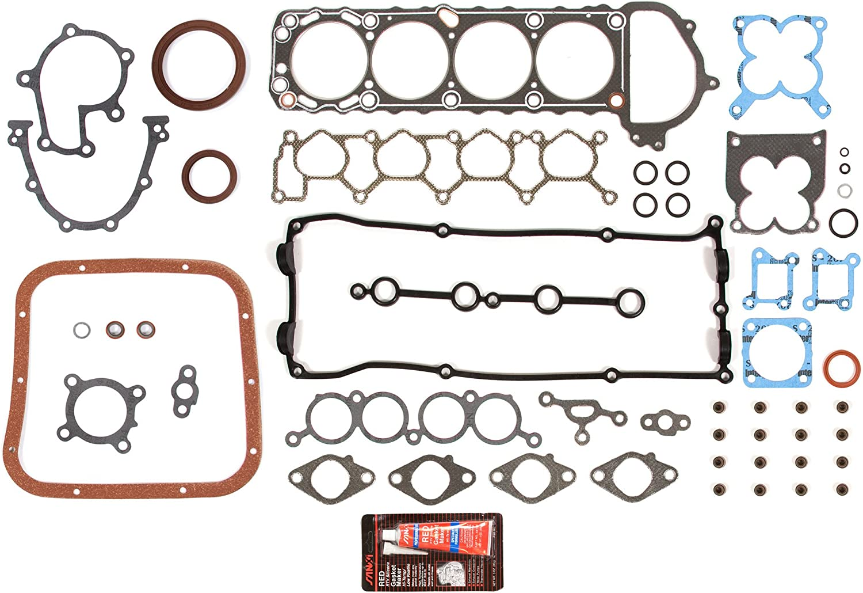 Evergreen OK3016//2//1//1 Fits 98-04 Nissan Frontier Xterra 2.4L DOHC KA24DE 16V Engine Rebuild Kit