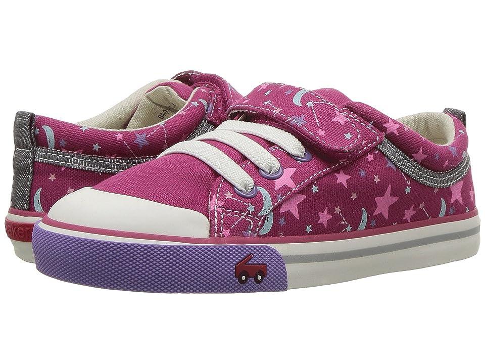 See Kai Run Kids Kristin (Toddler/Little Kid) (Berry/Stars) Girls Shoes