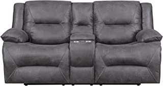 MorriSofa Everly Reclining Love Seat, 80.5
