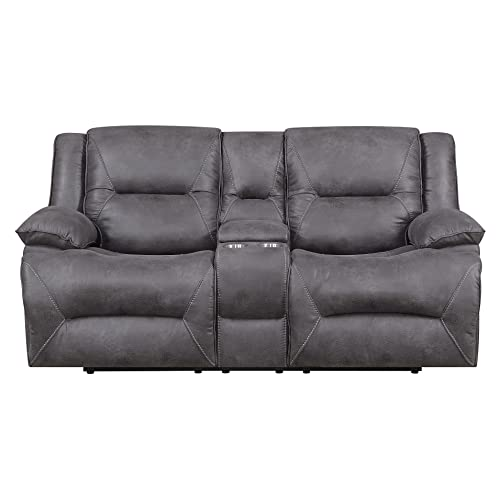 Peachy Power Reclining Loveseats Amazon Com Caraccident5 Cool Chair Designs And Ideas Caraccident5Info