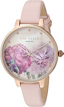 Ted Baker London Women's Kate Leather Strap Watch