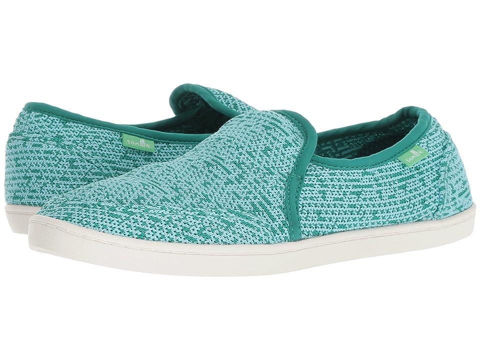 df0b39d5c67dd4 Sanuk Pair O Dice Knit (Parasailing) Women s Slip on Shoes