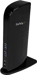StarTech USB3SDOCKHD - Estación de conexión Universal, USB 3.0, Negro