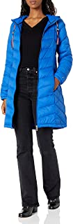 Women's Mid Length Chevron Quilted Packable Down Jacket
