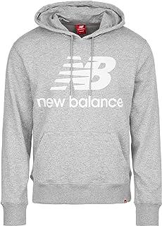 New Balance Men's Essentials Stacked Logo Pullover Hoodie