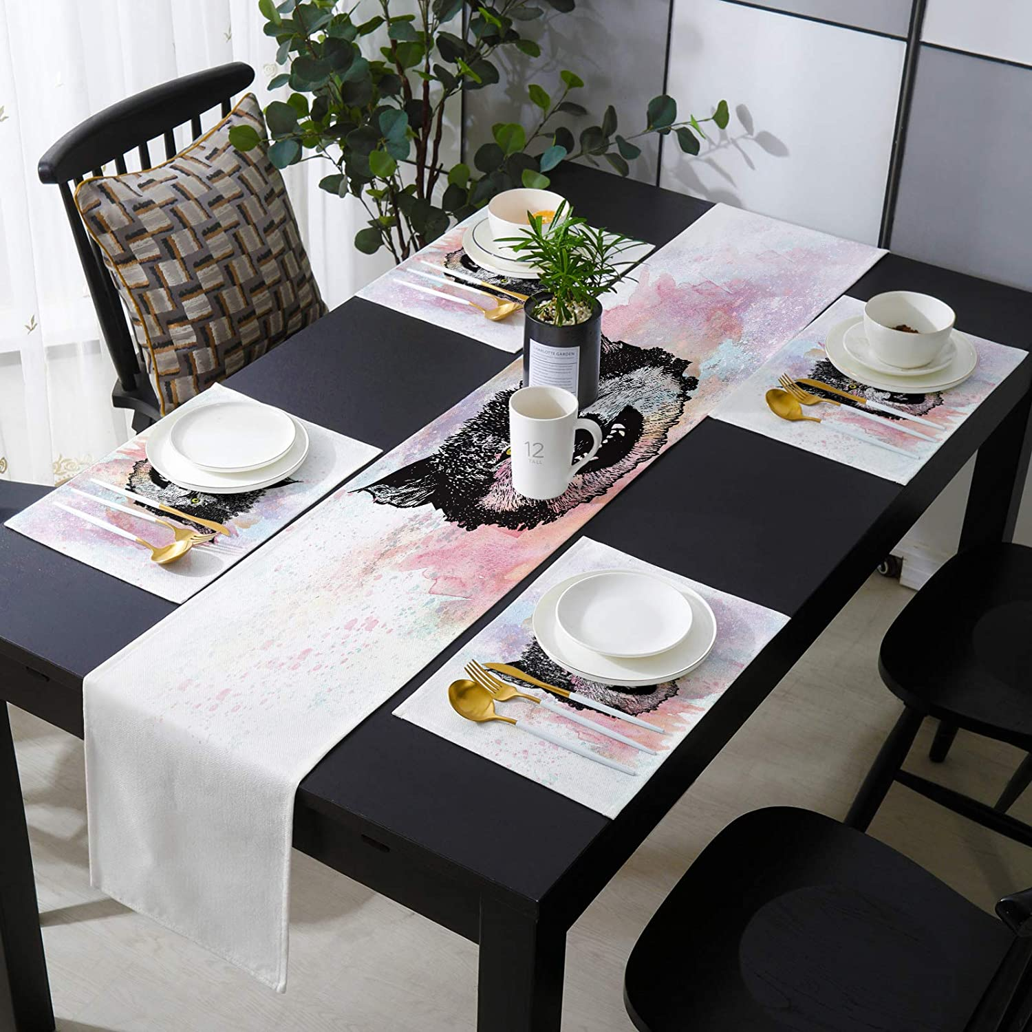 KAROLA Table Runner and Placemats OFFicial mail order Set Alternative dealer T Wolf 4 Kitchen of Dining