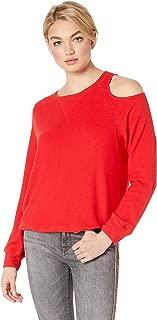 LNA Women's Brushed Heart On My Sleeve Sweater