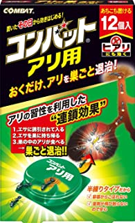 KINCHO コンバット 蟻用駆除剤 12個入 アリの巣退治