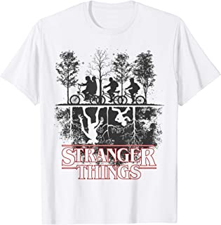 Stranger Things The Upside Down Logo Camiseta