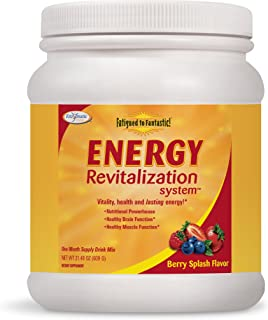 Enzymatic Therapy Fatigued to Fantastic! Energy Revitalization System Berry Splash Flavored