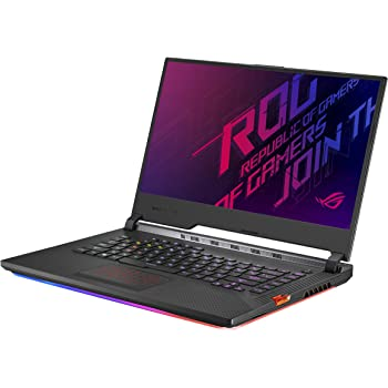 "Asus ROG Strix Scar III (2019) Gaming Laptop, 15.6"" 240Hz IPS Type FHD, NVIDIA GeForce RTX 2060, Intel Core i7-9750H, 16GB DDR4, 1TB PCIe Nvme SSD, Per-Key RGB KB, Windows 10, G531GV-DB76"