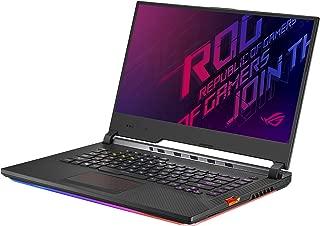 "Asus ROG Strix Scar III (2019) Gaming Laptop, 15.6"" 240Hz IPS Type FHD, NVIDIA GeForce RTX 2060, Intel Core i7-9750H, 16GB DDR4, 1TB PCIe Nvme SSD, Per-Key RGB KB, Windows 10, G531GV-DB76"
