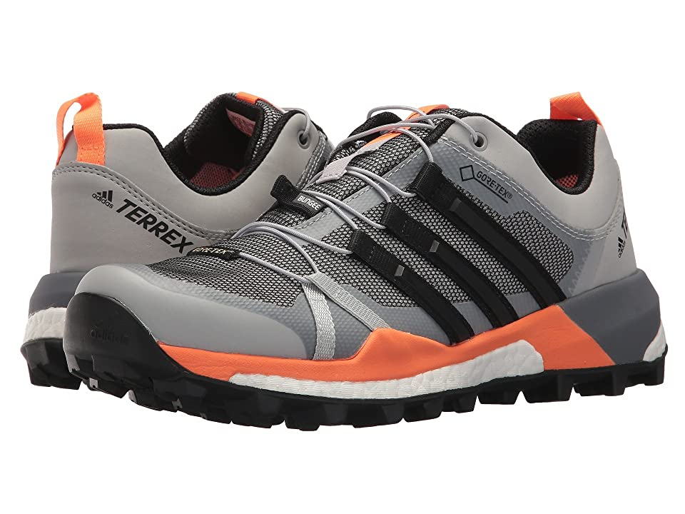 adidas Outdoor Terrex Skychaser GTX(r) (Grey Two/Black/Hi-Res Orange) Women