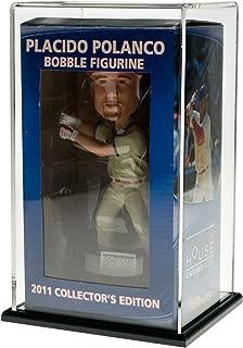 SOURCEONE.ORG Source One Premium Acrylic Sports Display Case, Baseball, Basketball, Football, Helmets (Bobble Head, Black Base)