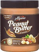 Alpino Classic Peanut Butter Smooth 1 KG (Gluten Free / Non-GMO / Vegan)
