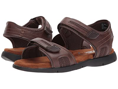 Nunn Bush Rio Grande Two Strap River Sandal (Tan) Men