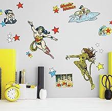 RoomMates Wonder Woman Cartoon Peel and Stick Wall Decals