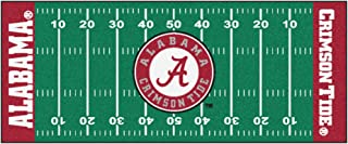 FANMATS NCAA University of Alabama Crimson Tide Nylon Face Football Field Runner