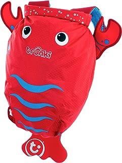 Trunki Pinch the Lobster Paddlepak Children's Backpack, Red, Medium