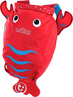 Trunki Pinch the Lobster Paddlepak Children's Backpack, Red, Medium