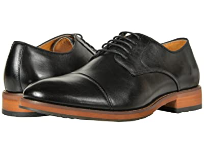 Florsheim Blaze Cap Toe Oxford (Black Smooth) Men