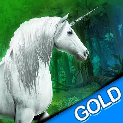 magische Einhorn-Rennen in den Wald der Feen - Gold Edition