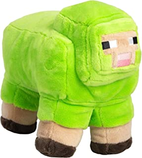 JINX Minecraft MINECON Earth 2018 Sheep Plush Stuffed Toy, Lime Green, 10