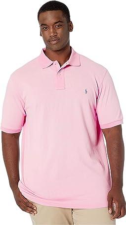 Big & Tall Basic Mesh Short Sleeve Classic Fit Polo