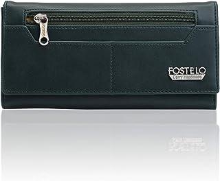 Fostelo Green Satin Women's Wallet (FC-47)
