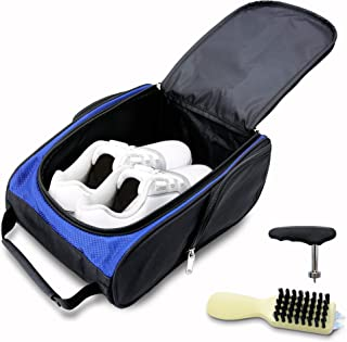 KYTAI Golf Shoes Bag Travel Sports Shoe Case with Golf Shoes Spike Wrench Club Brush for Golf Tennis and Other Accessories