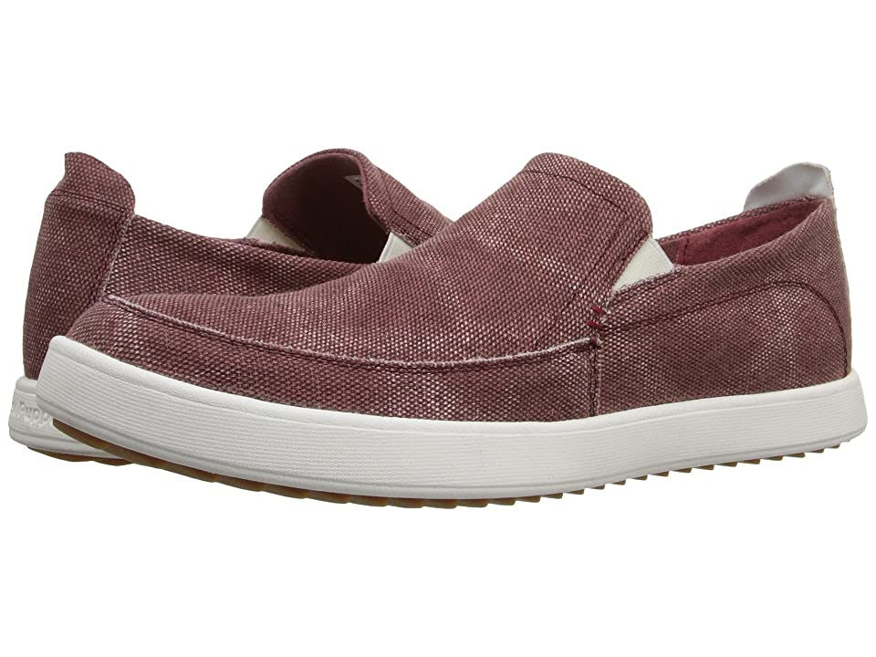 Hush Puppies Roadside Slip On MT (Burgundy Canvas) Men