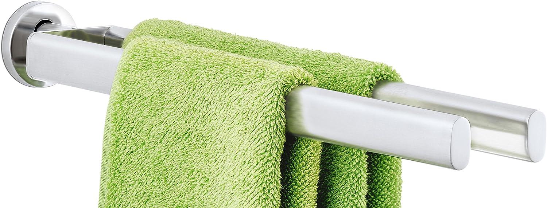 Space Aluminium Aufbewahrungsregal Schwarz Faltbar Handtuchhalter ohne Bohren erforderlich mit Bad Bad K/üche oder Schlafzimmer Bad Handtuchhalter